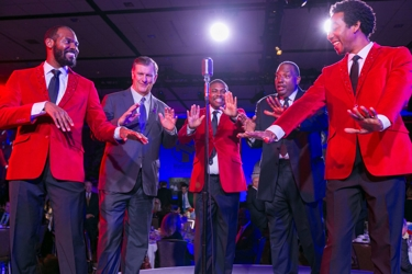 Roycesters with Mayor Rawlings & Royce West