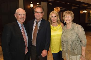 Dr. Phil Berry, Dr. Craig and Cheryl Callewart, Karen Berry