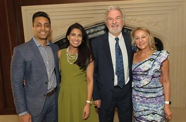 Drs. Prashant and Raashee Kedia, Dr. Samuel and Beth Cullison
