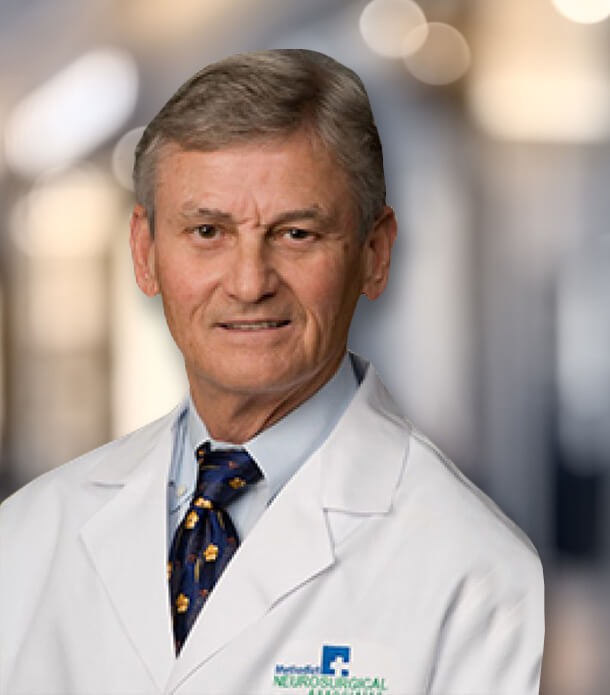 James A. Moody, MD, chief of neurosurgery, Methodist Moody Brain and Spine Institute at Methodist Dallas